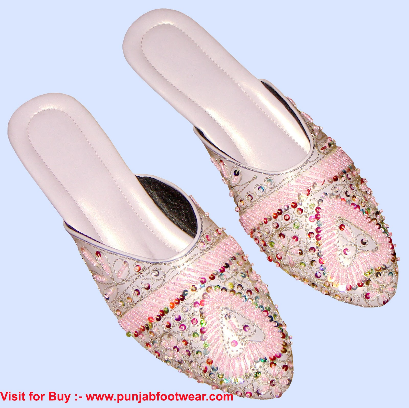 beaded shoe designer shoe traditional khussa shoes