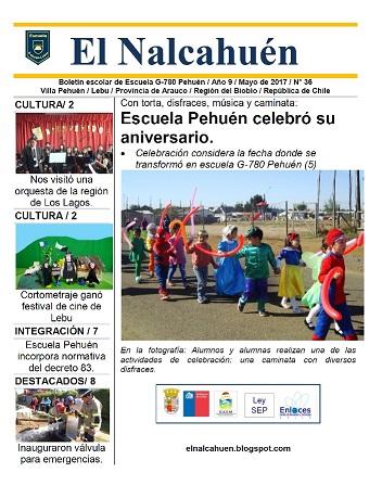 El Nalcahuén IMPRESO N° 36 (Mayo de 2017)