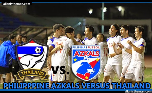 Philippine Azkals vs Thailand (AFF Suzuki Cup 2014) FREE LIVE STREAMING
