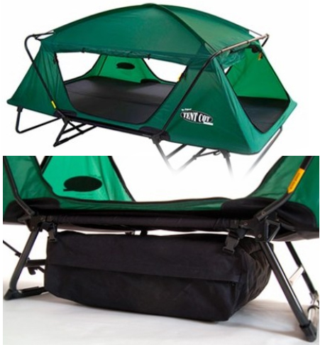 K&-Rite the Double Tent Cot - Bonnaroo Chris & Tent / Trailer / RV Dream List | Bonnaroo Chris
