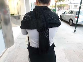 Echarpe de crochet