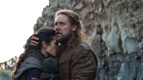 jennifer connelly as naameh , russell crowe as noah 2014 movie
