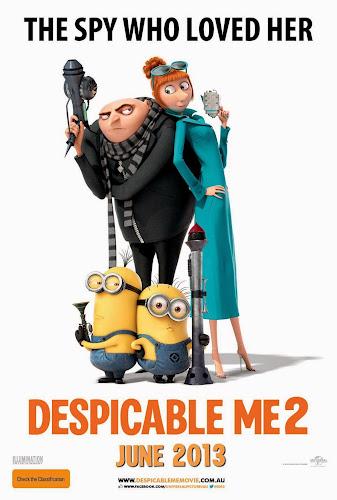 Despicable Me 2 (DVDRip Español Latino) (2013)