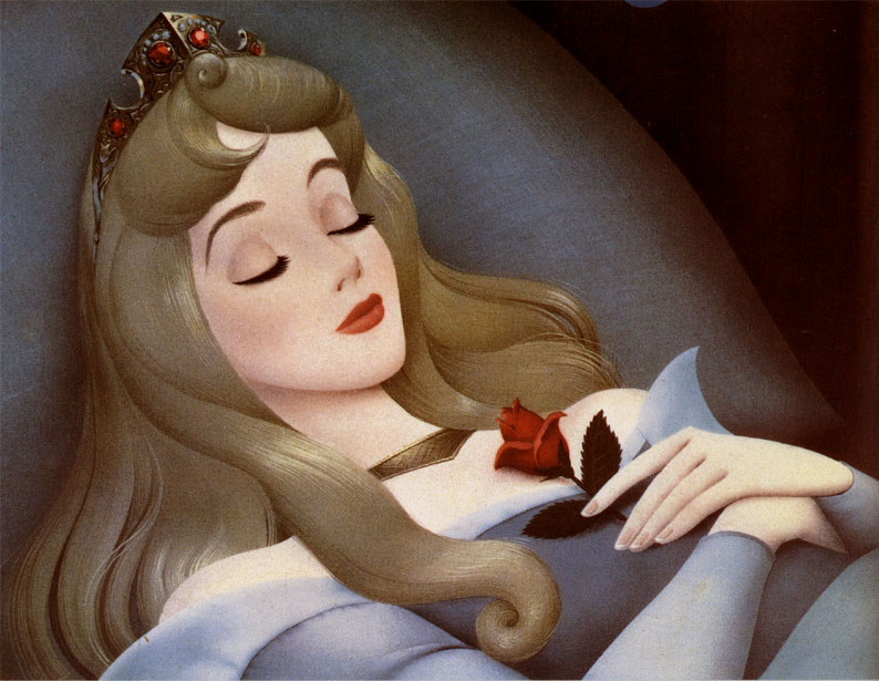 mermaid sleeping beauty