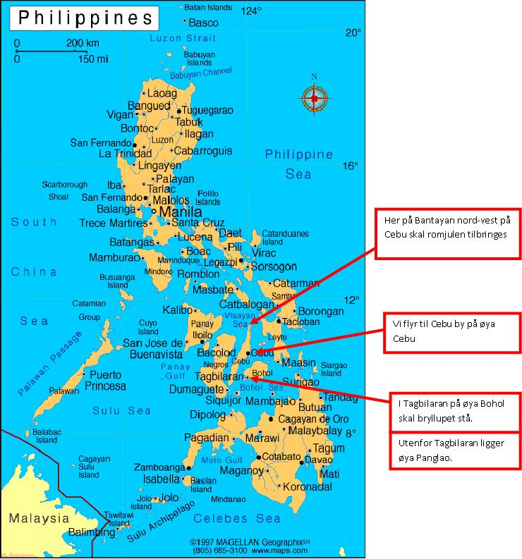Tidsforskjell norge filippinene