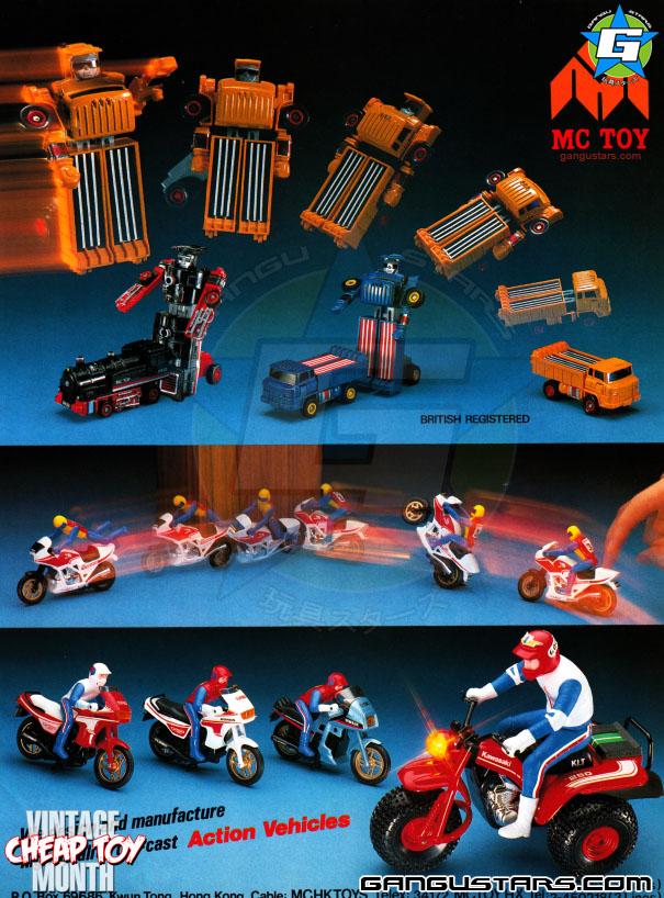 Transformers transforming robot hong kong knock offs toys cheap asian bootlegs robots fakes 1980s retro toys vintage KOs
