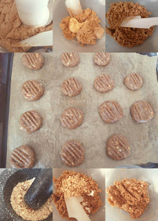 homemade almond butter cookies recipe | Halal Home Cooking