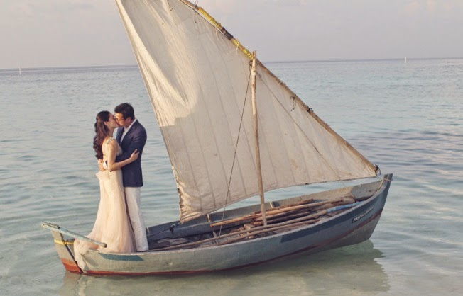 Lovell Productions cites wedding film of  Richard & Peony in the Maldives