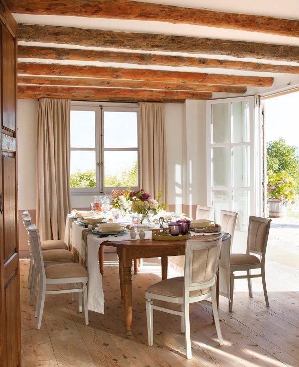 Una casa de campo confortable comfortable country house - Casas de campo el mueble ...