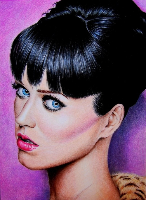 13-Katy-Perry-Valentina-Zou-Pencils-and-Charcoal-Hyper-Realistic-Drawings-www-designstack-co
