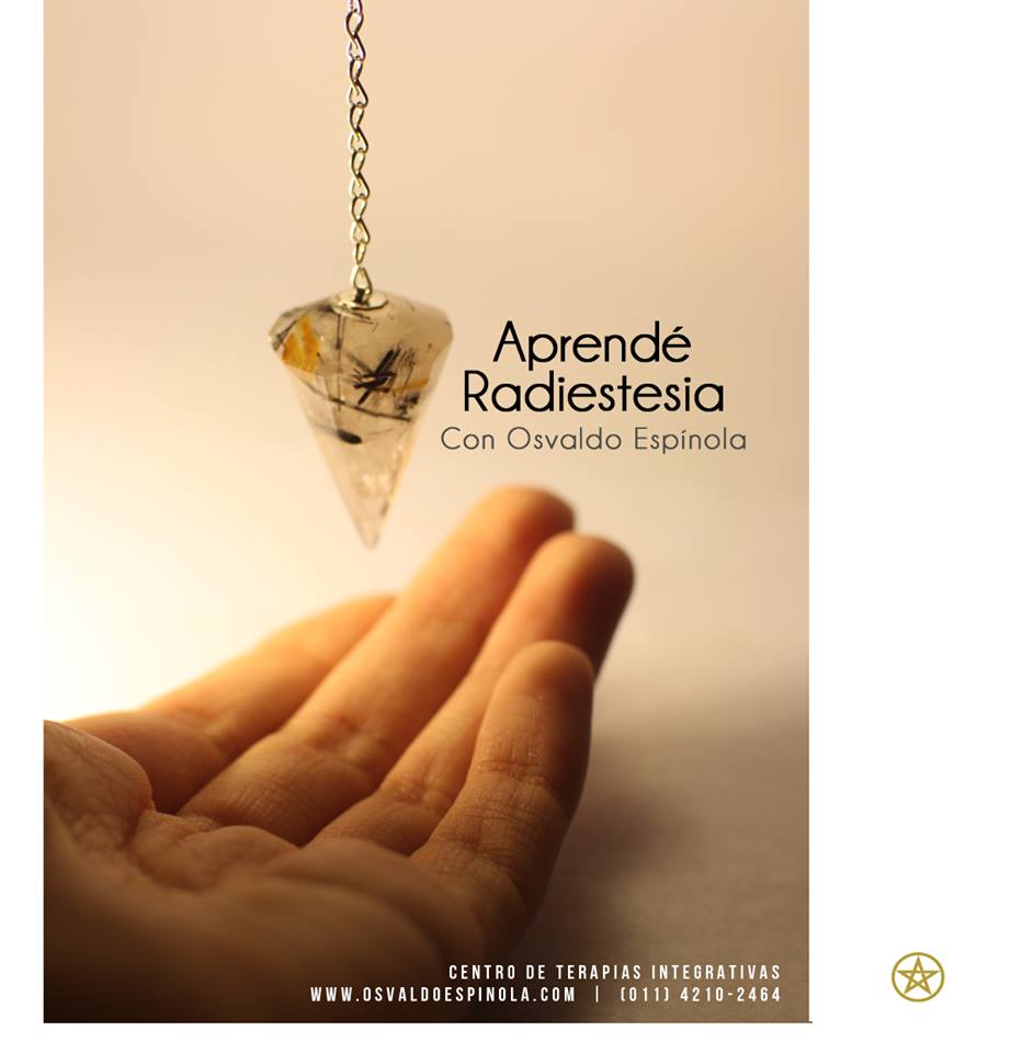 Radiestesia en Quilmes con Osvaldo Espinola