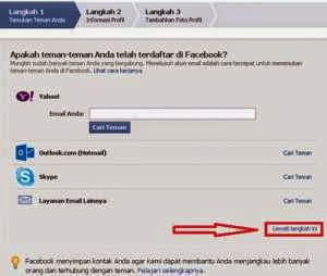 Buat Facebook lewat hp android