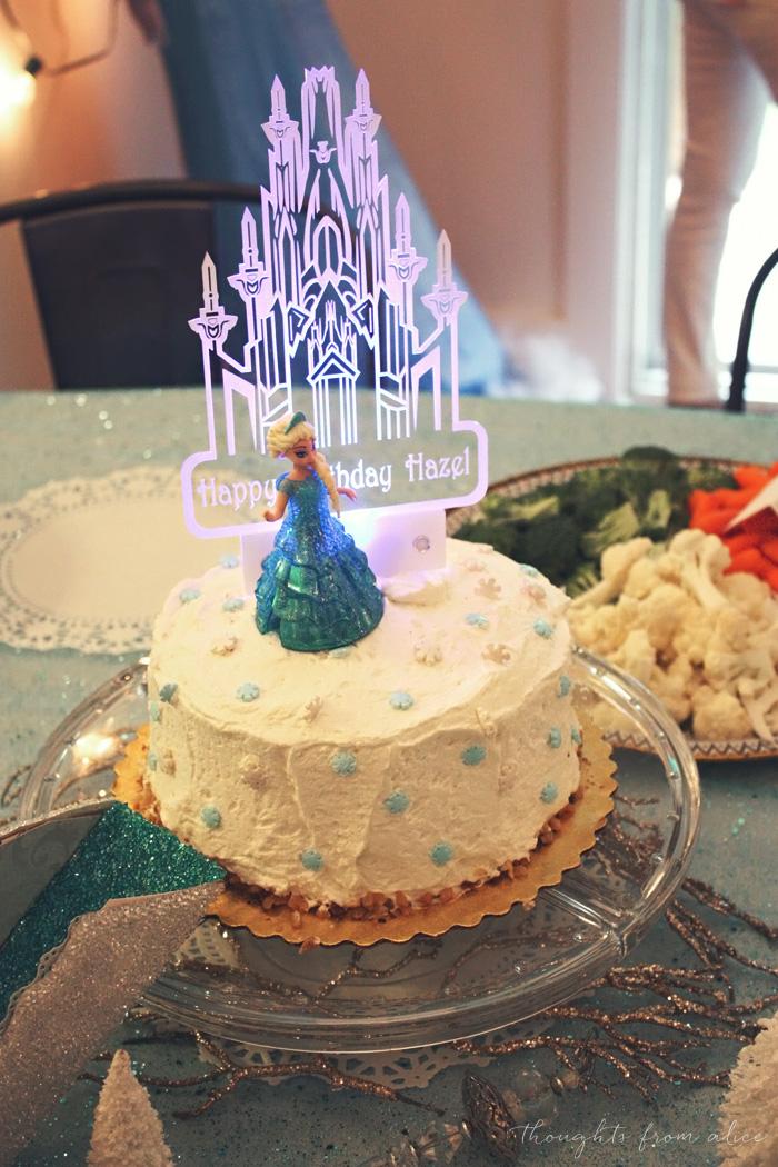 Hazels Frozen 4th Birthday Party