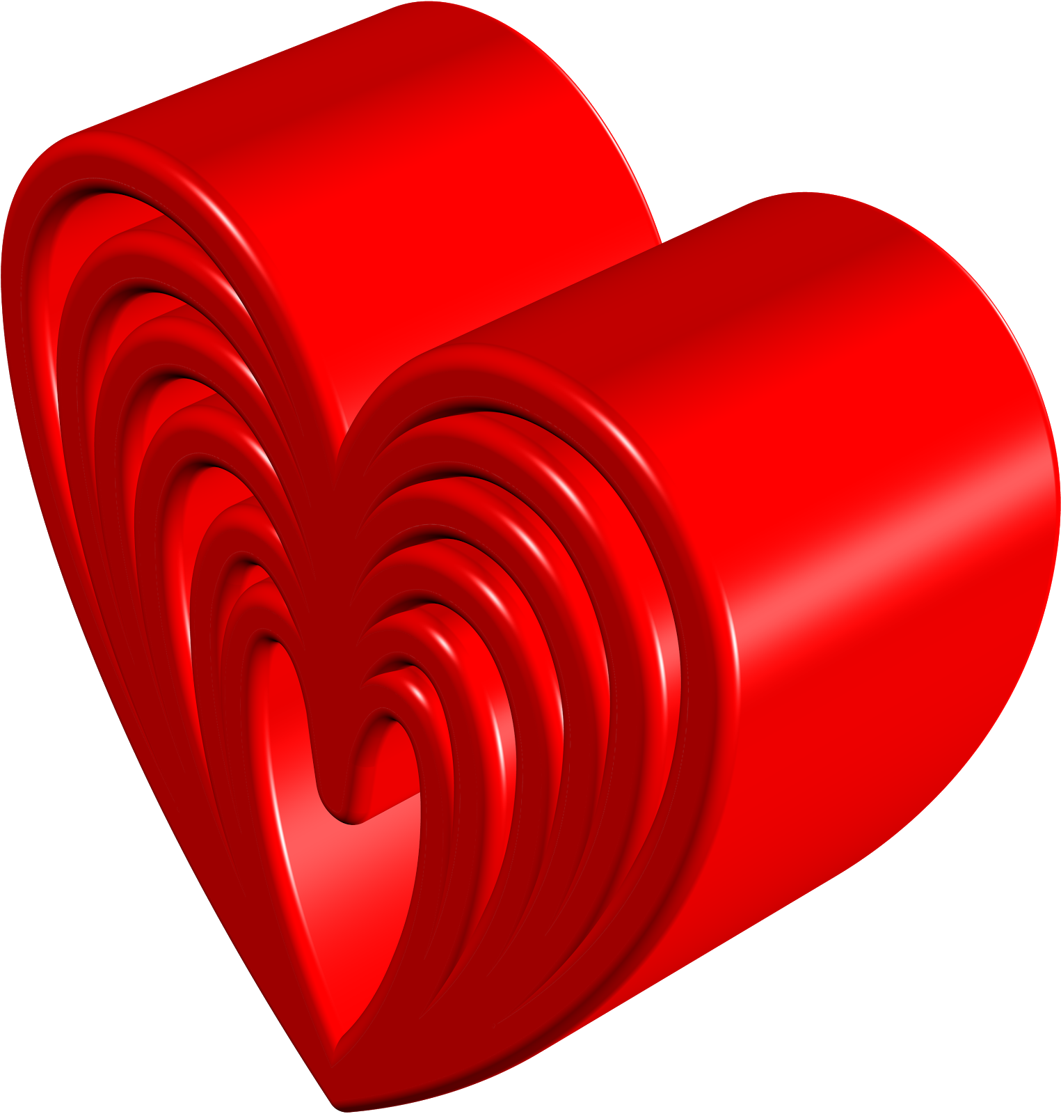love 3d wallpapers heart red colour with messages - romantic urdu