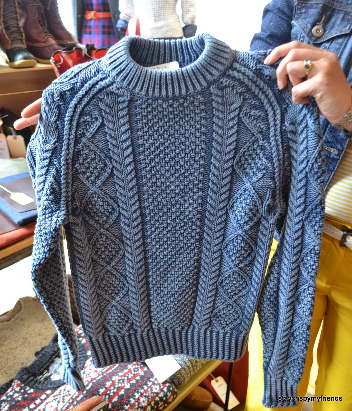 LL Bean Signature Rollneck Sweater