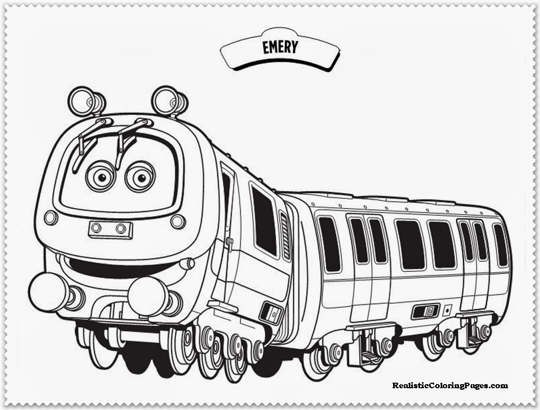 chuggington coloring pages emery
