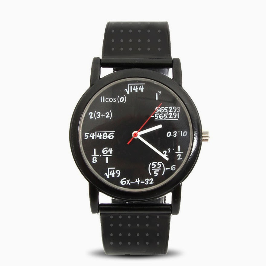 24 Of The Most Creative Watches Ever - Geeky Equation Watch