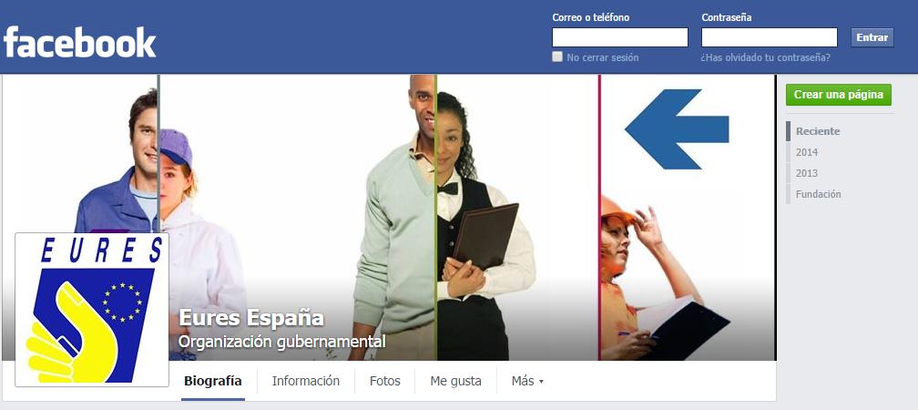facebook eures