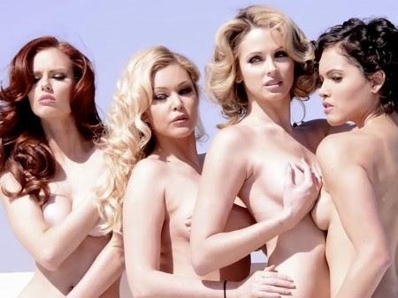 4 Hoa hậu Mỹ khỏa thân với động vật