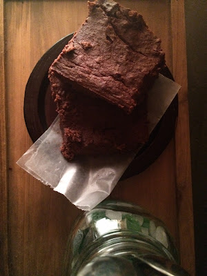 honey pumpkin brownies gluten-free