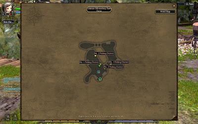 Dragon Nest - Fishing Zone Map
