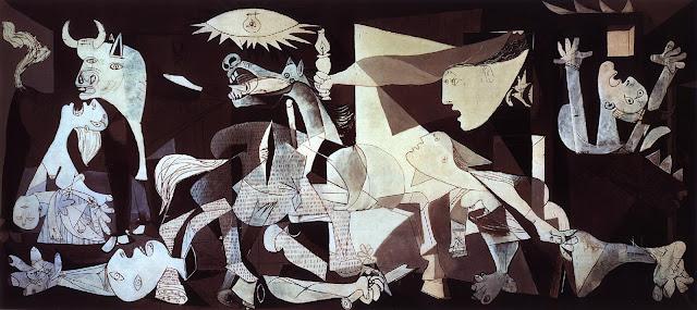 بابلو بيكاسو  (Pablo PicaSso •• (1881-1973  Guernica