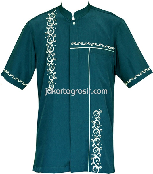 Baju koko rumahmadanicom toko online baju koko pria lengan Baju gamis almia terbaru