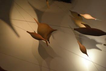 """""""REDES"""" composición en cerámica y metal."""