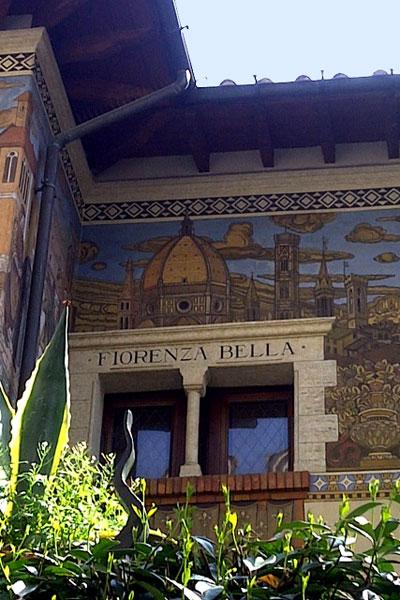 Retroavanguardismo quartiere coppede 39 di roma for Piani casa delle fate