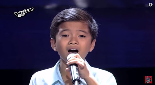 "Romeo Espino belts out ""Hesus"" on The Voice Kids Season 2"