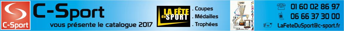 La Fête du Sport by C-Sport : Coupes - Médailles - Trophées.