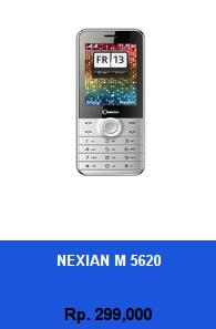 Daftar HP Murah Nexian M 5620 - wedhanguwuh.com