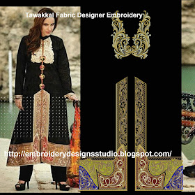 Tawakkal Fabric Designer Embroidery