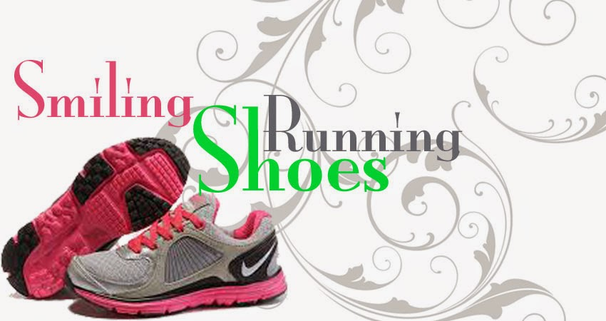 Smiling Running Shoes