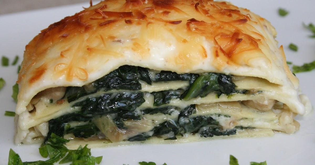 Aprendiendo a cocinar lasa a vegetal de espinacas y for Maneras de cocinar espinacas
