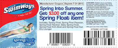 Coupon for Swimways products
