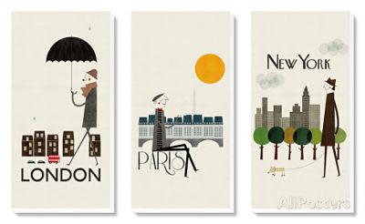 París, Londres y Nueva York, los tres amores de mi vida