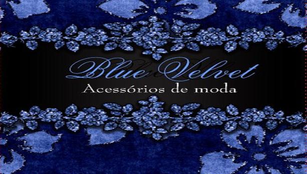 Blue Velvet Acessórios de moda