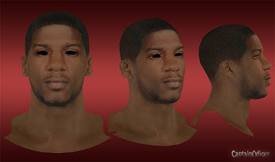 NBA 2K13 DeQuan Jones Cyberface Mod