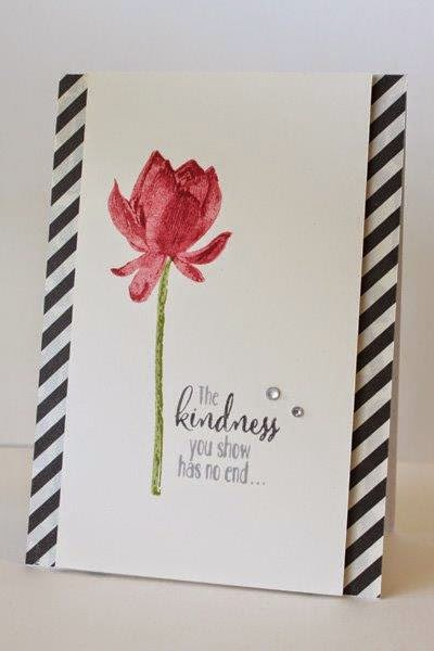 Free Lotus Blossom from Zena Kennedy stampin up