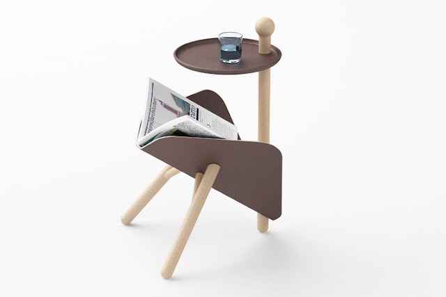 ETable, An Coffee Table with a Magazine Rack - Inspiring Modern Home