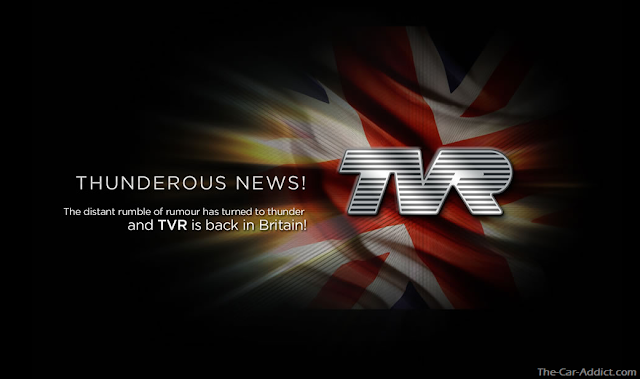 BREAKING NEWS: TVR is back!