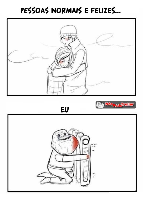 pessoas normais no frio inverno