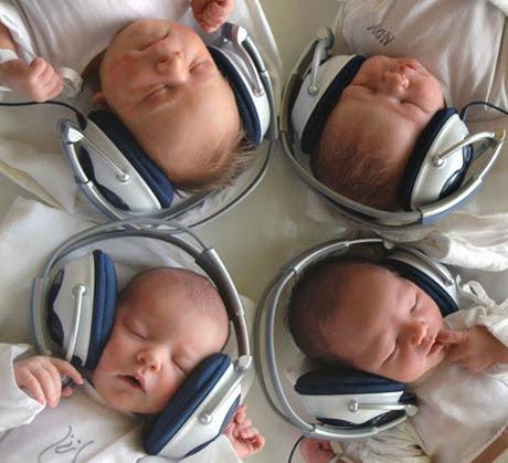 Música para recién nacidos.