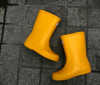 Rain Boots Yellow3