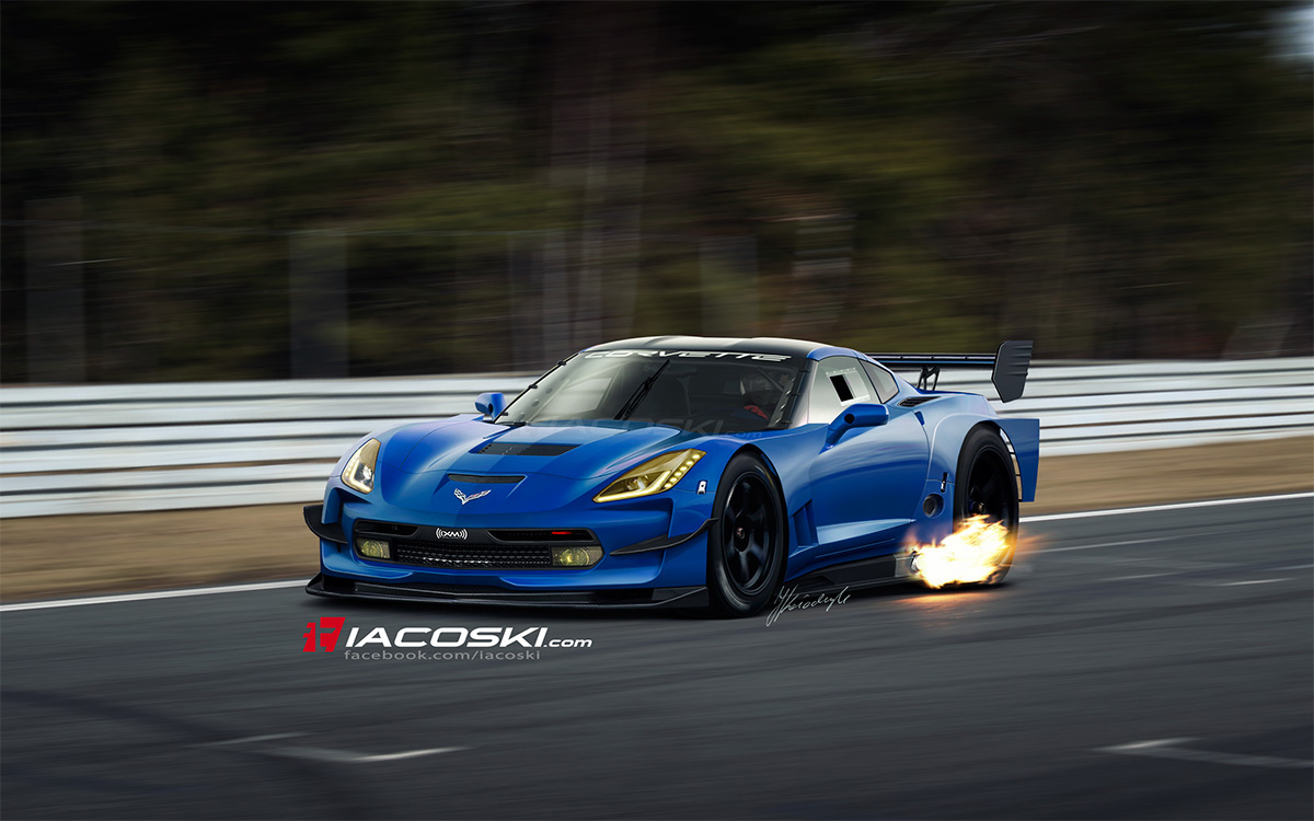 2014 Corvette C7 Super Gt Illustrated By Iacoski Ebeasts Com