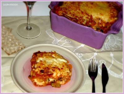 """image-Lasagnes aux courgettes et aubergines, façon """"parmigiana"""""""