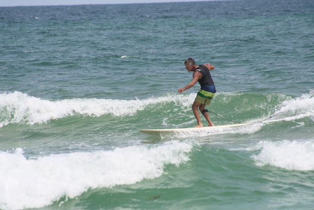 Kendall Roose Surfing at Pensacola Beach on Sunday May 13, 2012