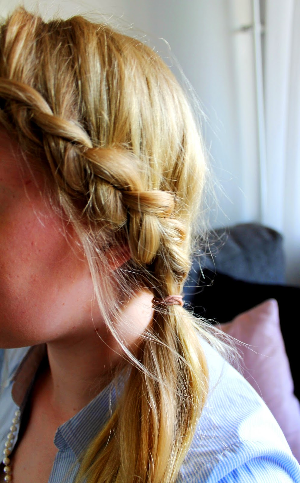 Game of thrones styled sidebraid | Alinan kotona blog