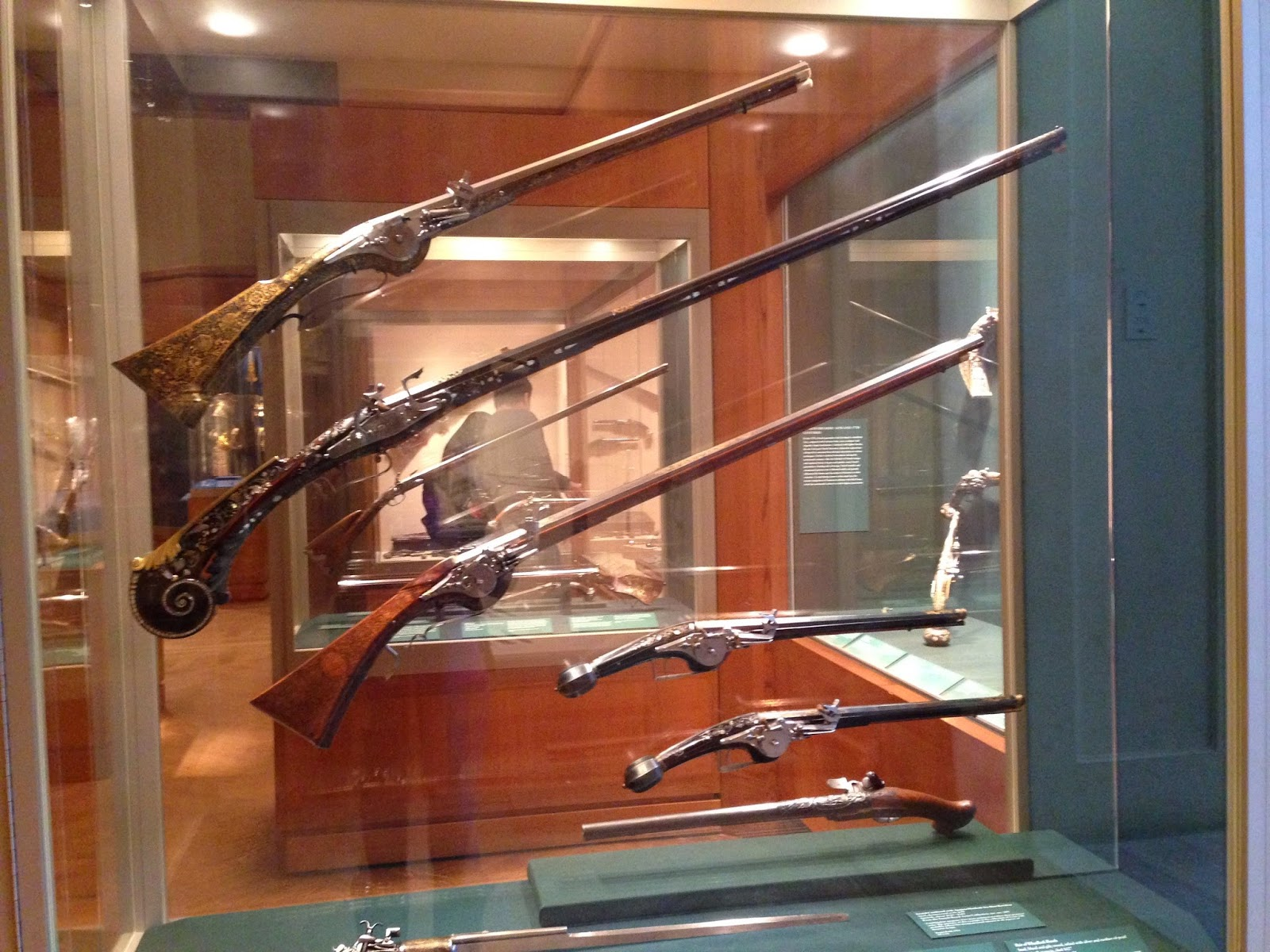 Old guns inside The Met